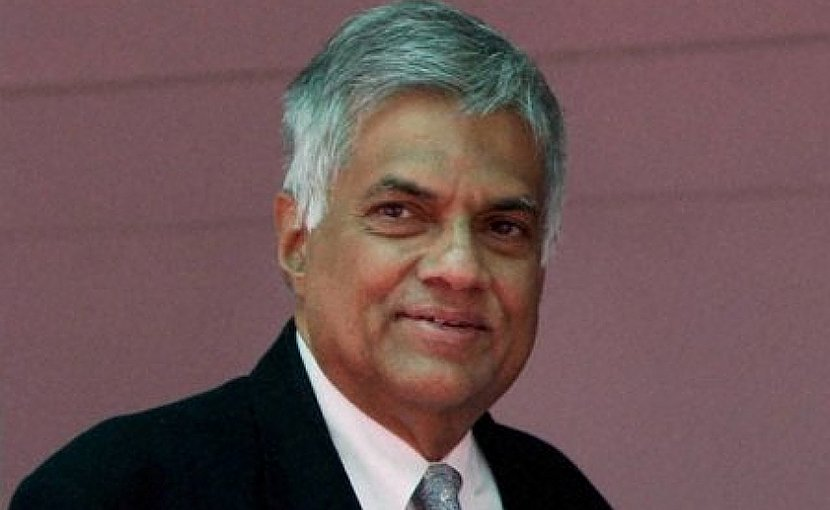 Sri Lanka's Ranil Wickremesinghe. Photo Credit: Sri Lanka government.