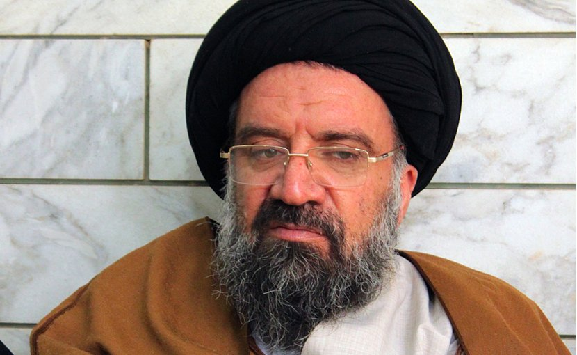 Iran's Ayatolllah Seyyed Ahmad Khatami. Photo by Mostafameraji, Wikipedia Commons.