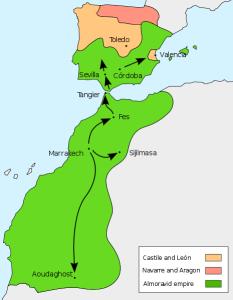 The Almoravid empire