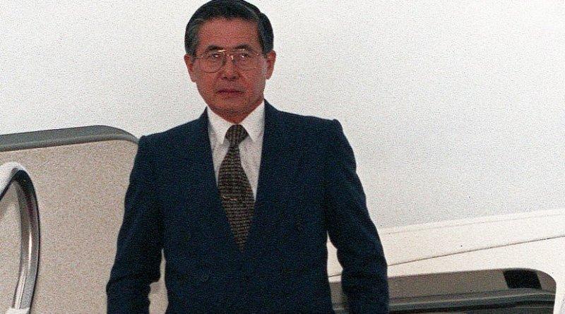 Peru's Alberto Fujimori. Photo by Staff Sergeant Karen L. Sanders, United States Air Force, Wikipedia Commons.