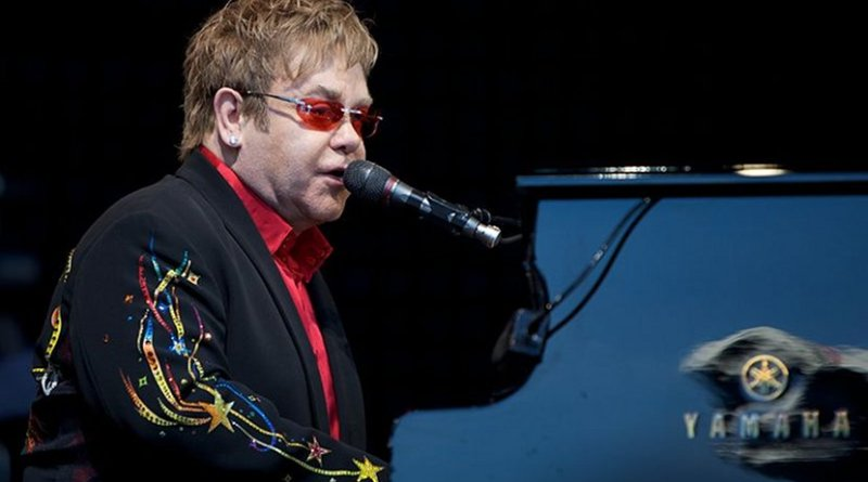 Sir Elton John. Photo by Ernst Vikne, Wikimedia Commons.