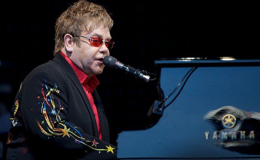 Sir Elton John. Photo by Ernst Vikne, Wikimedia Commons.