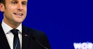 France's President Emmanuel Macron. Photo Credit: World Economic Forum / Manuel Lopez