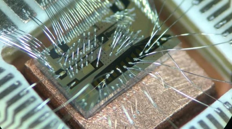 The quantum computer of the future will be able to carry out computations far beyond the capacity of today's computers. Credit TU Delft