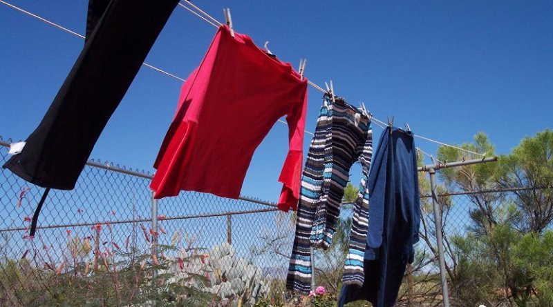 laundry clothes home