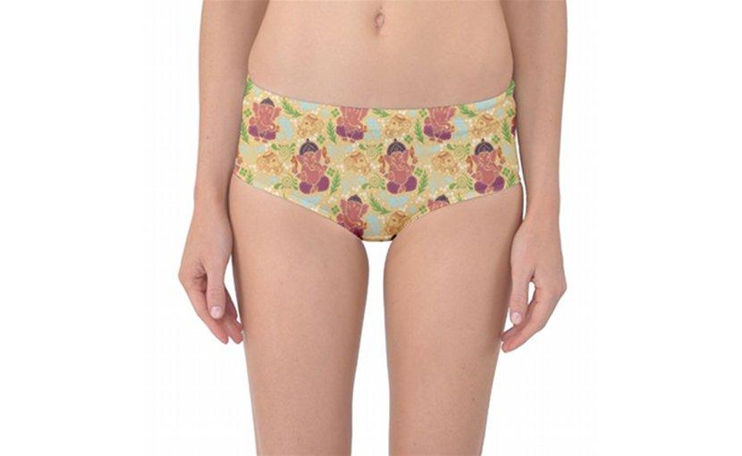 "Hindu group objects to ""Grace of Ganesha"" bikini bottoms."