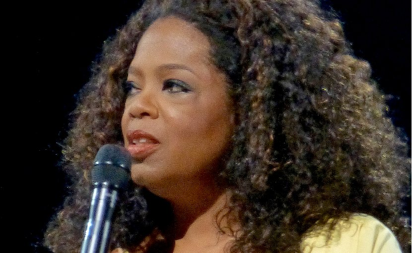 Oprah Winfrey. Photo by https://www.flickr.com/photos/aphrodite-in-nyc, Wikipedia Commons.