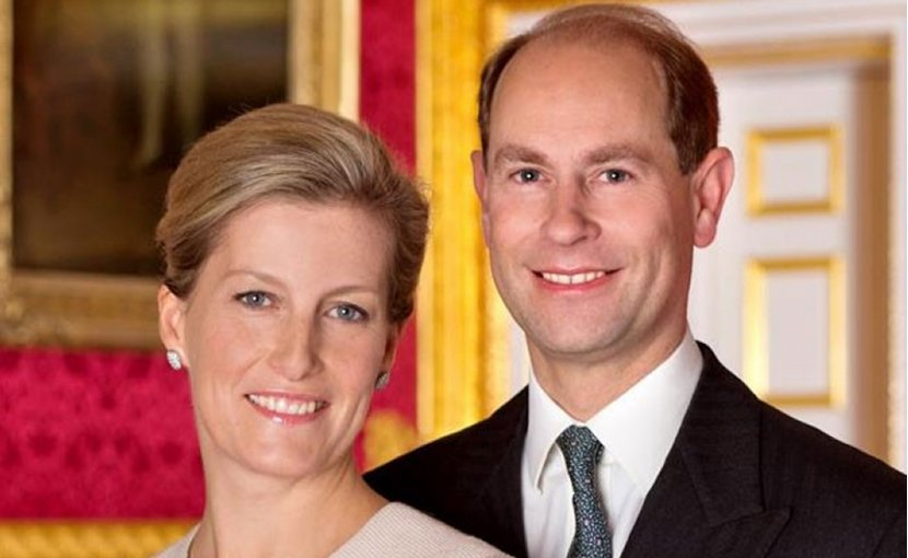 Prince Edward, Earl of Wessex, and the Countess of Wessex