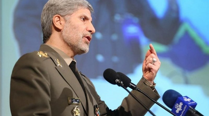 Iranian Defense Minister Brigadier General Amir Hatami. Photo Credit: Tasnim News Agency.