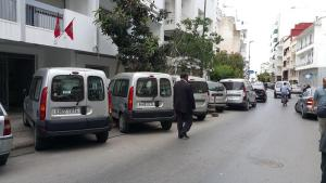 Cars everywhere in Rabat ruling OK while the city council is totally absent (Photo: M. Chtatou)
