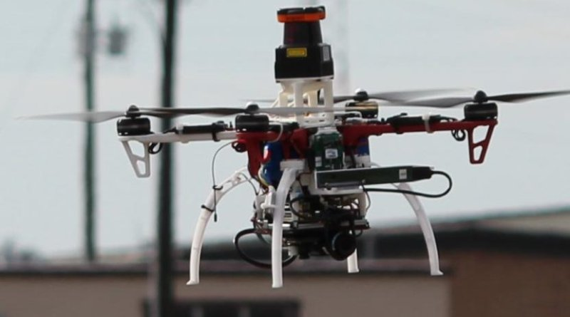 MIT CSAIL's system enables drones to fly through forests. Credit Jonathan How, MIT
