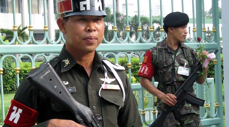 Thailand Army Military Police. Photo by Roger Jg, Wikipedia Commons.