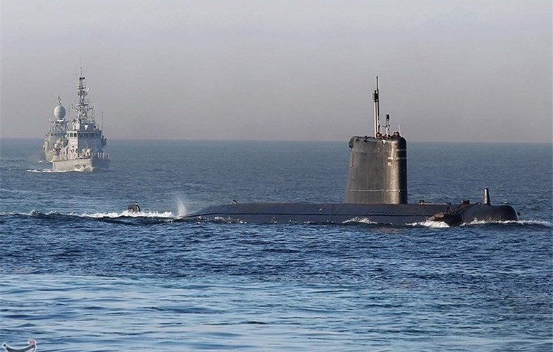 Iranian submarine. File photo Tasnim News Agency.