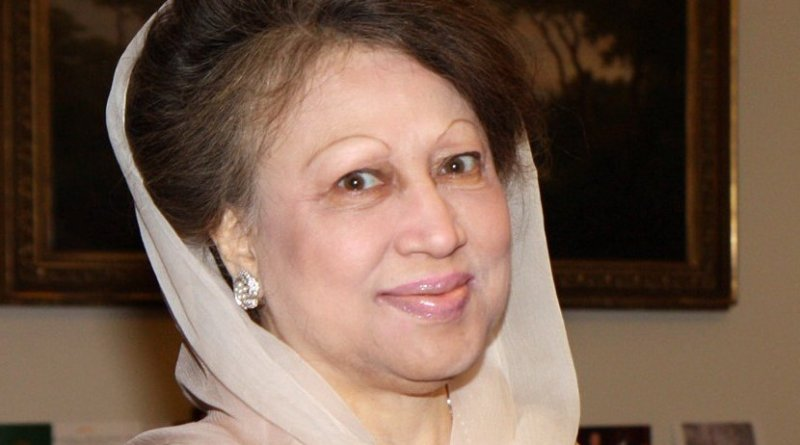 Bangladesh's Khaleda Zia. Photo Credit: Foreign and Commonwealth Office, Wikimedia Commons.