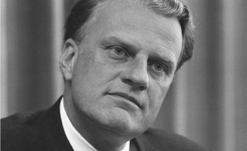 Rev. Billy Graham. Photo by Warren K. Leffler, Wikimedia Commons.