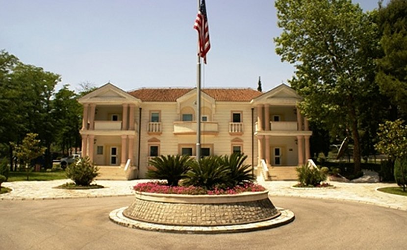 U.S. Embassy Podgorica, Montenegro. Photo Credit: US State Department.
