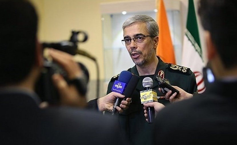Chief of Staff of the Iranian Armed Forces Major General Mohammad Hossein Baqeri. Photo Credit: Tasnim News Agency