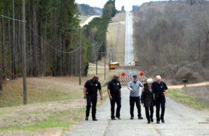 1-Mile Hill, a dangerous road no longer used
