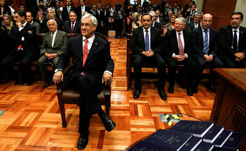 Sebastián Piñera at his inauguration on January 9. Photo: Marcelo Hernandez / Cámara de Diputados de Chile (CC BY-NC-ND 2.0)
