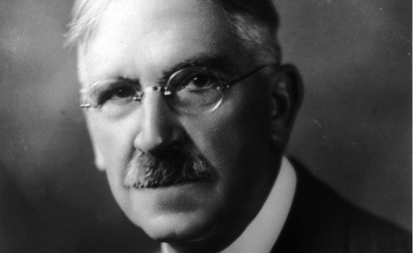 John Dewey. Photo by Underwood & Underwood, Wikipedia Commons.