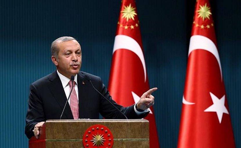Turkey's President Recep Tayyip Erdogan. Credit: Turkish government photo.