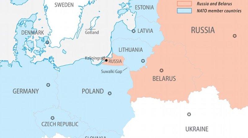 Europe, NATO members and Russia. Credit: FPRI.