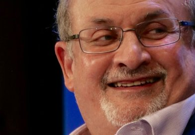 Salman Rushdie. Photo by Andrew Lih, Wikipedia Commons.