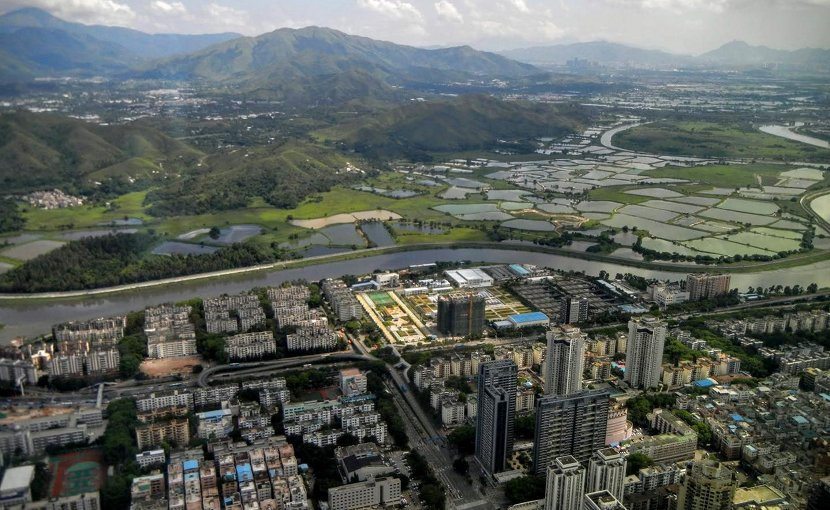 Based on the analysis, Shenzen, China, has a medium level of dependence on moisture recycling for its water supply. Credit Patrick W. Keys/Colorado State University