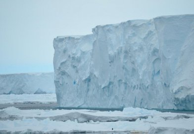 This is the Mertz Glacier in January 2017. Credit Alessandro Silvano
