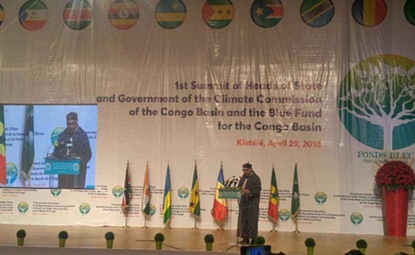 King Mohammed VI of Morocco in Congo-Brazzaville