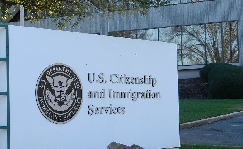 United States Citizenship and Immigration Services. Photo by Gulbenk, Wikipedia Commons.