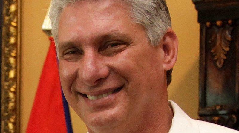 Cuba's Miguel Díaz-Canel. Photo Credit: Cuba government, Wikimedia Commons.
