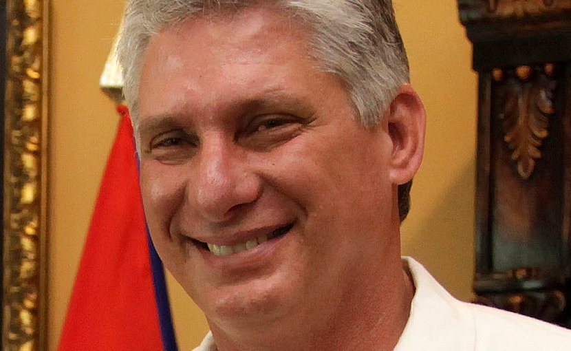 Cuba's Miguel Díaz-Canel. Photo Credit: Cuba government, Wikimedia Commons.
