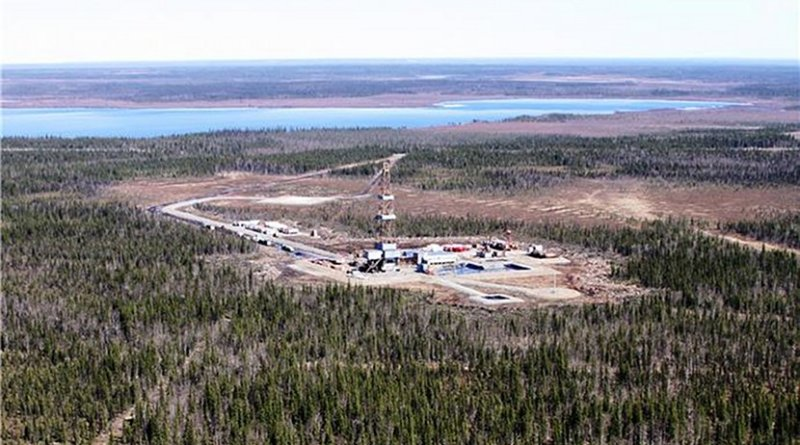Exploration oil well. Photo Credit: LUKOIL
