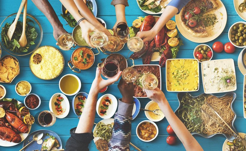 Mediterranean diet may blunt air pollution's ill health effects. Credit ATS