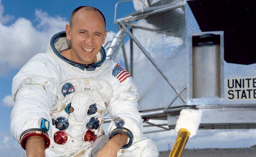 US astronaut Alan Bean. Photo Credit: NASA.