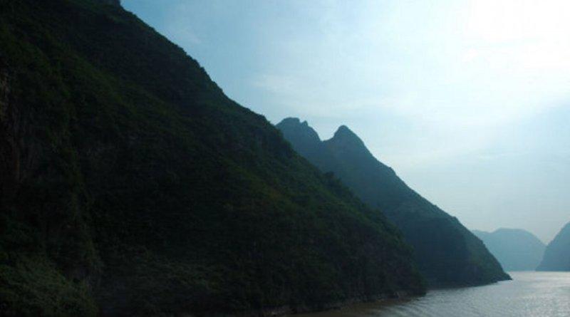 Yangtze River in China.