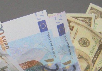 dollar euro bills currency