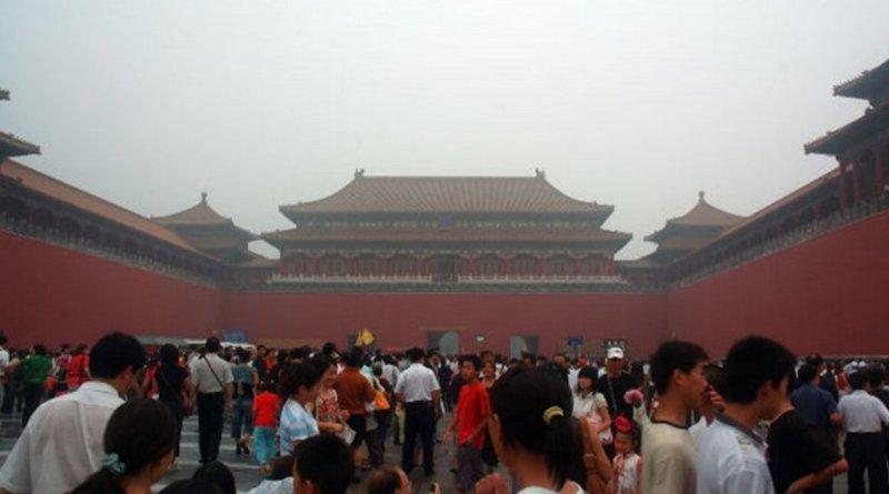 china crowd people