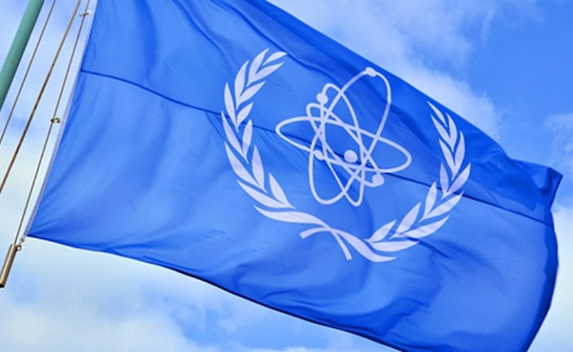 IAEA flag. Source: IAEA