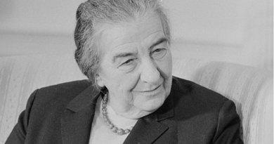 Golda Meir. Photo by Marion S. Trikosko, Wikimedia Commons.