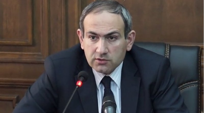Armenia's Nikol Pashinyan. Photo by iravaban.net, Wikipedia Commons.
