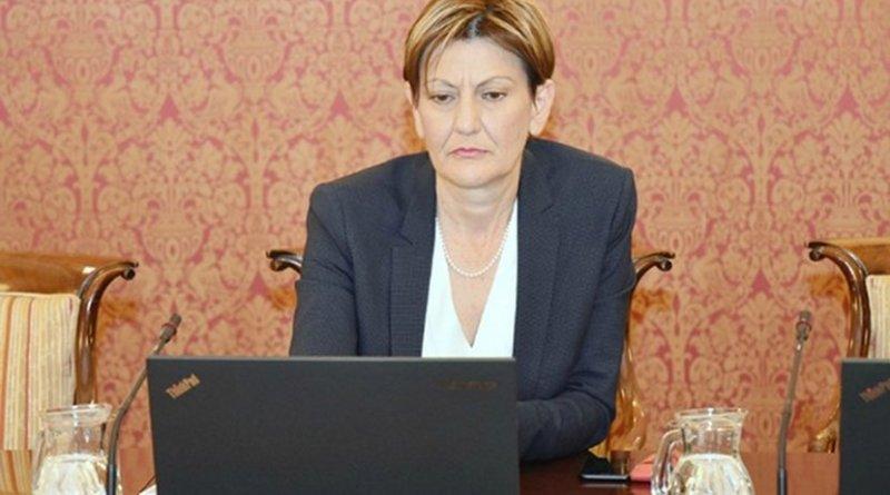 Martina Dalic. Photo: Flickr/Croatian government
