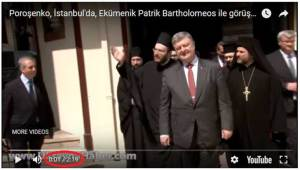 The footage uploaded to the Ukrayna Haber's YouTube channel
