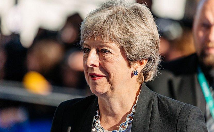 United Kingdom's Theresa May. Photo Credit: EU2017EE Estonian Presidency, Wikimedia Commons.