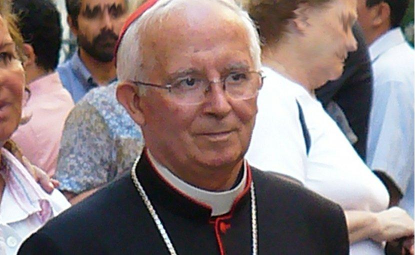 Cardinal Antonio Cañizares. Photo Credit: Th1979, Wikipedia Commons.