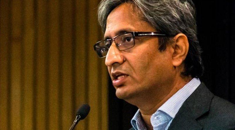 India's TV journalist Ravish Kuma
