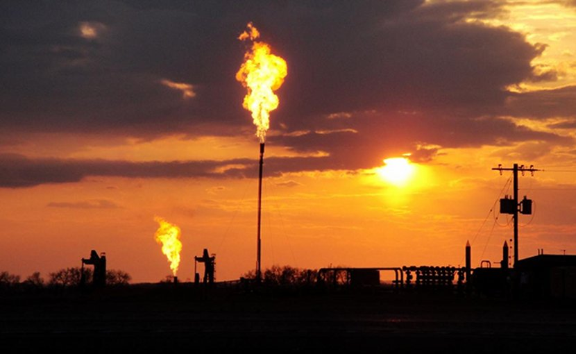 This is gas flaring. Credit Jeff Peischl/CIRES and NOAA