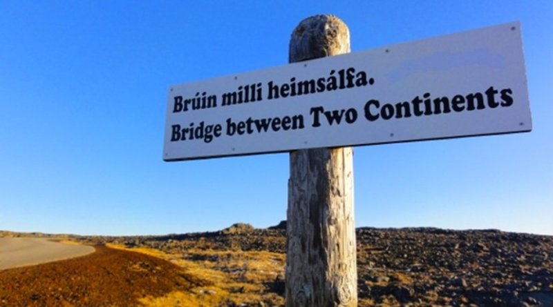 Sign in Iceland.