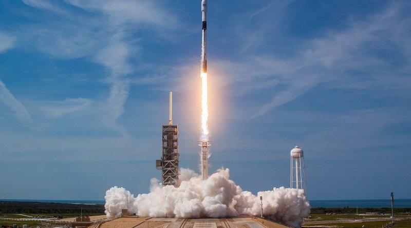 Launch of Bangladesh's Bangabandhu Satellite-1 Mission. Photo Credit: Official SpaceX Photos, Wikimedia Commons.